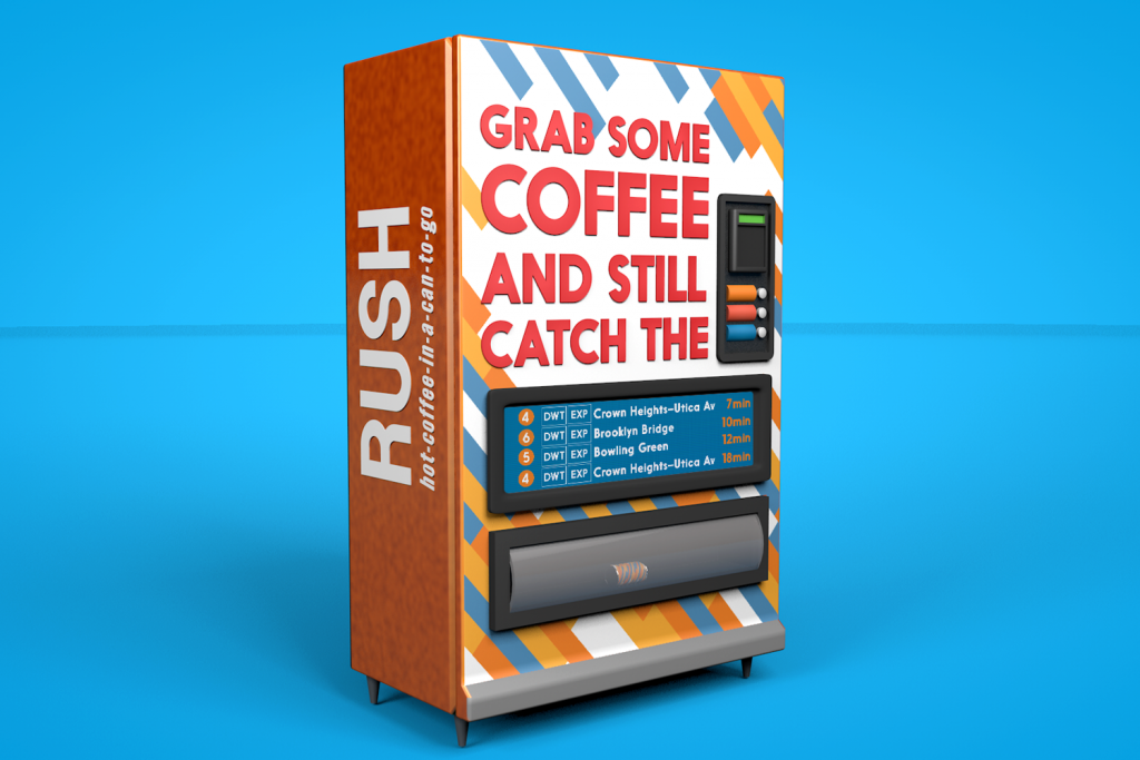 RUSH Vending Machine