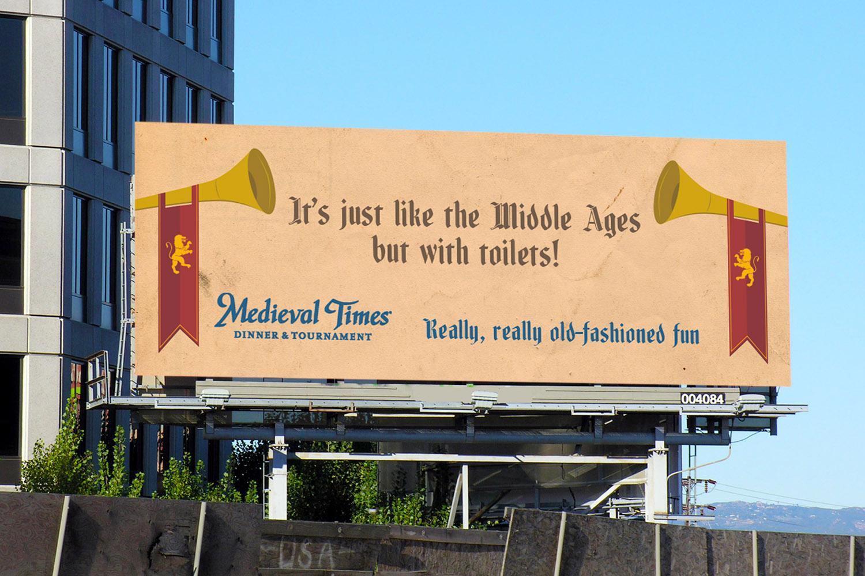 Medieval Times Billboard