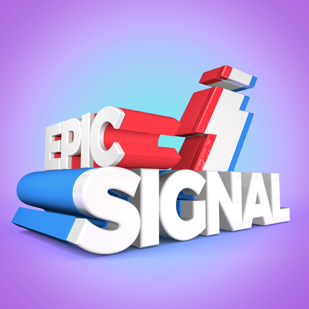 Epic Signal Logo C4D