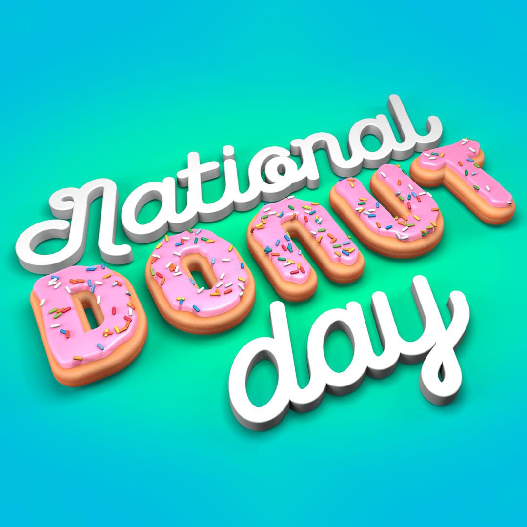 I celebrate National Donut Day